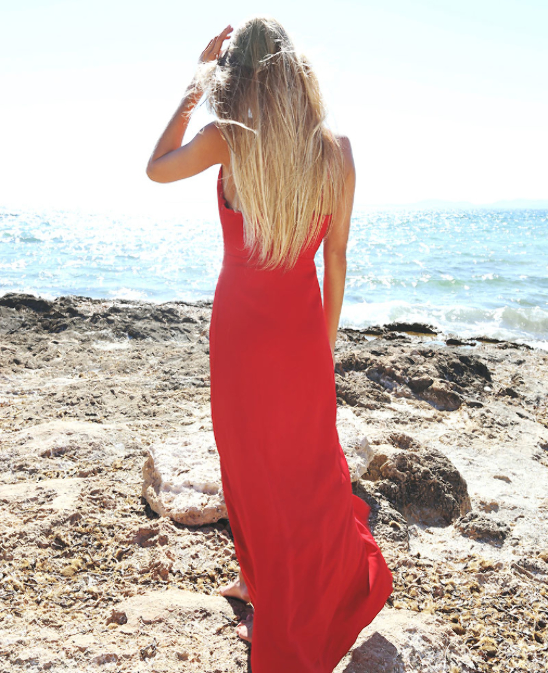 Front of red dress - Velette Dress by CiaraCode